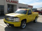 2008 Yellow Chevrolet Silverado 1500 LT Regular Cab #39503045