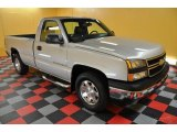 2006 Silver Birch Metallic Chevrolet Silverado 1500 LT Regular Cab 4x4 #39503079