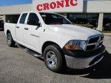 2011 Bright White Dodge Ram 1500 ST Quad Cab #39502810