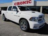 2011 Bright White Dodge Ram 1500 Sport Crew Cab #39502811