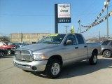 2005 Bright Silver Metallic Dodge Ram 1500 SLT Quad Cab 4x4 #39502818