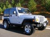 2003 Jeep Wrangler Bright Silver Metallic