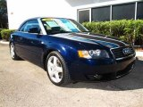 2004 Moro Blue Pearl Effect Audi A4 1.8T Cabriolet #39597617