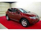 2010 Merlot Red Metallic Nissan Murano S #39597881