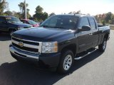 2011 Imperial Blue Metallic Chevrolet Silverado 1500 LS Extended Cab #39598421