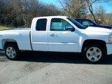 2011 Summit White Chevrolet Silverado 1500 LT Extended Cab 4x4 #39598425