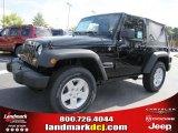 2011 Black Jeep Wrangler Sport S 4x4 #39597919