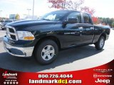 2011 Hunter Green Pearl Dodge Ram 1500 SLT Quad Cab #39597924