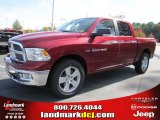 2011 Deep Cherry Red Crystal Pearl Dodge Ram 1500 Big Horn Crew Cab #39597927