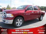 2011 Deep Cherry Red Crystal Pearl Dodge Ram 1500 Big Horn Crew Cab #39597933