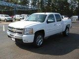 2011 Summit White Chevrolet Silverado 1500 LT Crew Cab #39598455