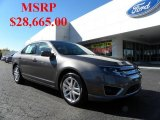 2011 Sterling Grey Metallic Ford Fusion SEL V6 #39597939