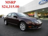 2011 Bordeaux Reserve Metallic Ford Fusion SE #39597940