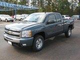 2011 Blue Granite Metallic Chevrolet Silverado 1500 LT Extended Cab 4x4 #39598457