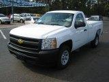 2011 Summit White Chevrolet Silverado 1500 Regular Cab #39598458