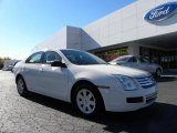 2008 White Suede Ford Fusion S #39597943
