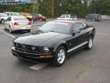 2007 Black Ford Mustang V6 Premium Coupe #39598463