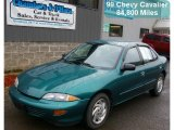 1999 Green Metallic Chevrolet Cavalier Sedan #39597987