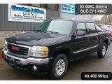 2005 Onyx Black GMC Sierra 1500 Z71 Crew Cab 4x4 #39597994