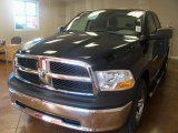 2011 Hunter Green Pearl Dodge Ram 1500 SLT Quad Cab 4x4 #39597740