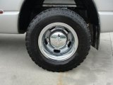 2007 Dodge Ram 3500 SLT Regular Cab 4x4 Dually Wheel