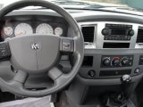2007 Dodge Ram 3500 SLT Regular Cab 4x4 Dually Dashboard