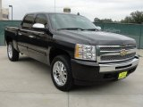 2009 Black Granite Metallic Chevrolet Silverado 1500 LT Crew Cab #39598015