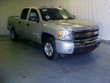 2011 Sheer Silver Metallic Chevrolet Silverado 1500 LT Crew Cab #39598254