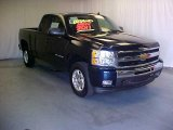 2011 Imperial Blue Metallic Chevrolet Silverado 1500 LT Extended Cab #39598256