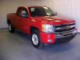 2011 Victory Red Chevrolet Silverado 1500 LT Extended Cab 4x4 #39598260