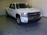 2011 Summit White Chevrolet Silverado 1500 LT Crew Cab #39598266