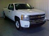 2011 Summit White Chevrolet Silverado 1500 LT Extended Cab 4x4 #39598272