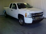 2011 Summit White Chevrolet Silverado 1500 Extended Cab #39598273