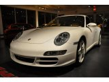 2008 Carrara White Porsche 911 Carrera 4S Coupe #39598303