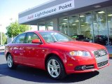 2008 Brilliant Red Audi A4 2.0T Sedan #39598628