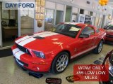 2007 Torch Red Ford Mustang Shelby GT500 Coupe #39666693