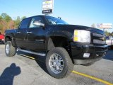 2011 Black Chevrolet Silverado 1500 LTZ Crew Cab 4x4 #39666955