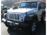 2011 Bright Silver Metallic Jeep Wrangler Sport S 4x4 #39667249