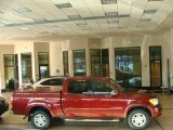 2005 Salsa Red Pearl Toyota Tundra SR5 Double Cab 4x4 #39667253