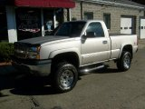 2004 Silver Birch Metallic Chevrolet Silverado 1500 Z71 Regular Cab 4x4 #39667039