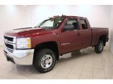 2008 Chevrolet Silverado 2500HD LT Extended Cab 4x4 Data, Info and Specs