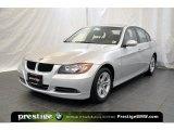 2008 Titanium Silver Metallic BMW 3 Series 328xi Sedan #39666514