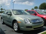 2009 Moss Green Metallic Ford Fusion SE #392572
