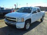 2011 Summit White Chevrolet Silverado 1500 LT Crew Cab #39667347