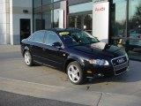 2008 Brilliant Black Audi A4 2.0T quattro S-Line Sedan #39666825