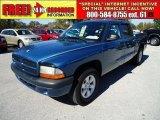 2003 Atlantic Blue Pearlcoat Dodge Dakota Sport Quad Cab #39667363