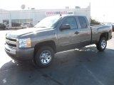 2011 Taupe Gray Metallic Chevrolet Silverado 1500 LS Extended Cab #39667124
