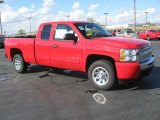 2011 Chevrolet Silverado 1500 LS Extended Cab Front 3/4 View