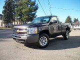 2011 Taupe Gray Metallic Chevrolet Silverado 1500 Regular Cab 4x4 #39666576