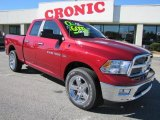 2011 Deep Cherry Red Crystal Pearl Dodge Ram 1500 Big Horn Quad Cab 4x4 #39666887